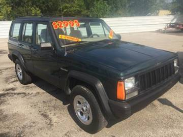 1993 Jeep Cherokee for sale at Old Fashioned Way Auto Center in Pearland TX