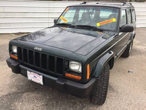 1999 Jeep Cherokee for sale at Old Fashioned Way Auto Center in Pearland TX