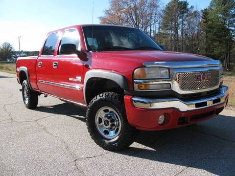 2006 GMC Sierra 2500HD for sale in Greenwood, SC