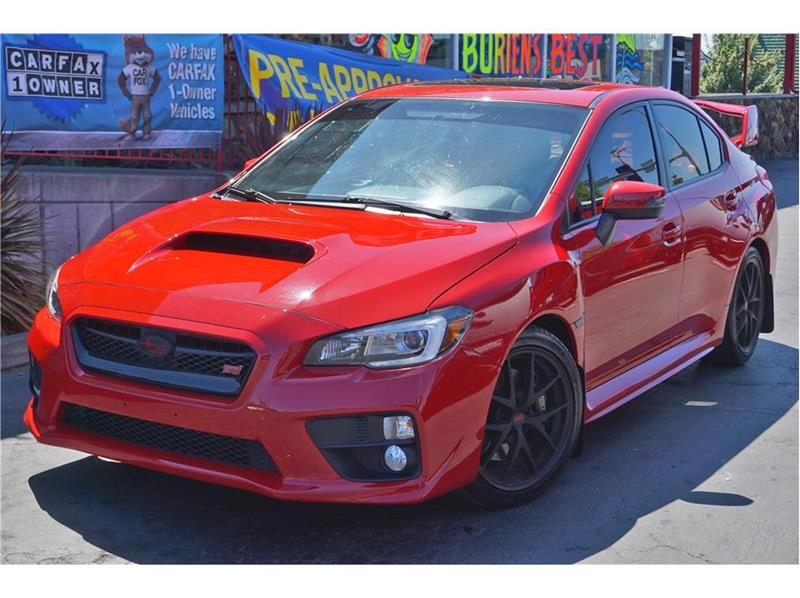 2015 Subaru WRX AWD STI Limited 4dr Sedan - Burien WA