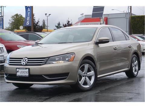 2015 Volkswagen Passat for sale in Burien, WA