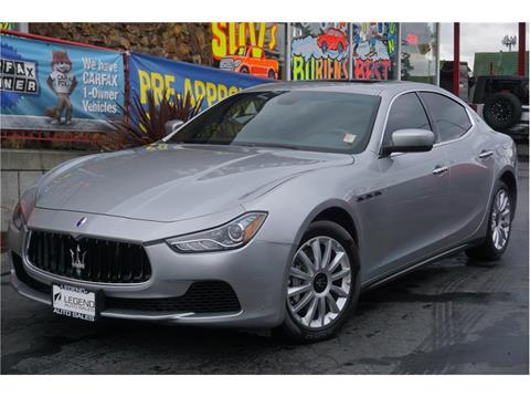 2014 Maserati Ghibli for sale in Burien, WA