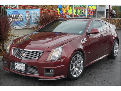 2014 Cadillac Cts V For Sale Carsforsale Com