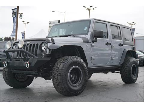 2013 Jeep Wrangler Unlimited for sale in Burien, WA