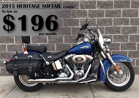 2015 Harley-Davidson Heritage Softail Clic For Sale in East ...