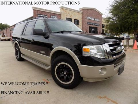 2008 Ford Expedition EL for sale in Carrollton, TX