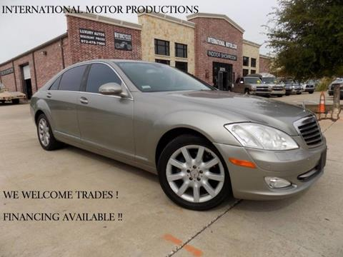2007 Mercedes-Benz S-Class for sale in Carrollton, TX