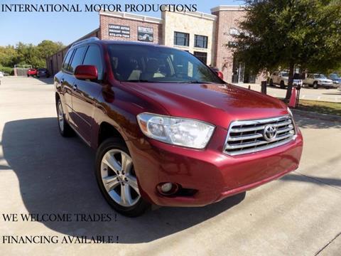 2008 Toyota Highlander for sale in Carrollton, TX