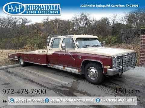 1987 Chevrolet R/V 3500 Series for sale in Carrollton, TX