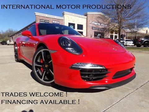 2014 Porsche 911 for sale in Carrollton, TX
