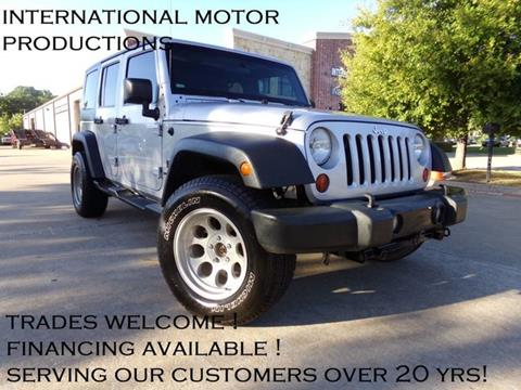 2009 Jeep Wrangler Unlimited for sale in Carrollton, TX