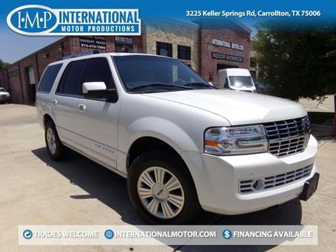 2011 Lincoln Navigator for sale in Carrollton, TX