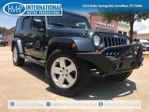 2007 Jeep Wrangler Unlimited for sale in Carrollton, TX