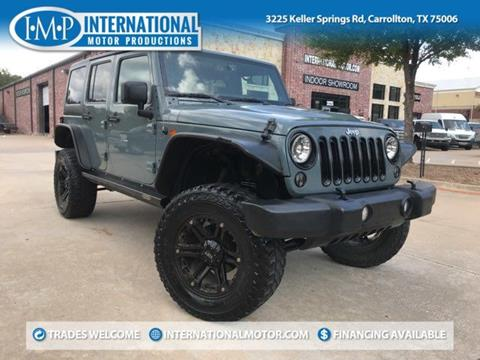 2014 Jeep Wrangler Unlimited for sale in Carrollton, TX