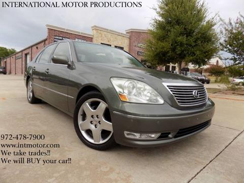 used 2006 lexus ls 430 for sale. Black Bedroom Furniture Sets. Home Design Ideas