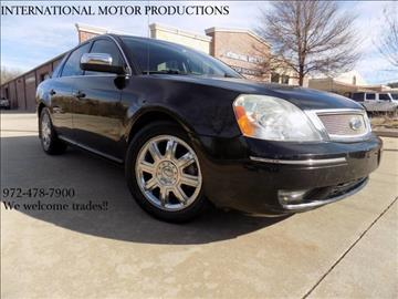 2007 Ford Five Hundred for sale in Carrollton, TX