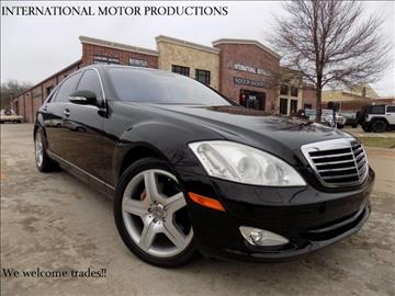2007 Mercedes-Benz S-Class for sale in Carrollton, TX