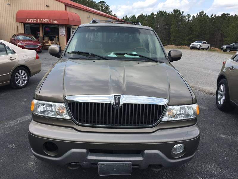 2002 lincoln navigator 4wd 4dr suv in henrico nc auto lane inc. Black Bedroom Furniture Sets. Home Design Ideas