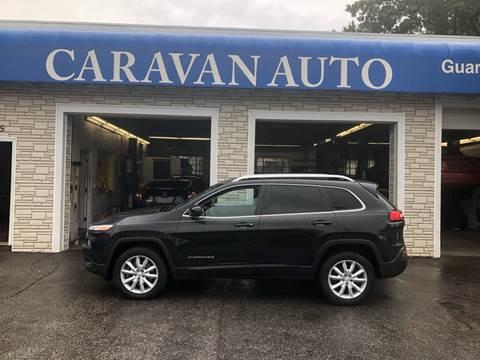 2014 Jeep Cherokee for sale at Caravan Auto in Cranston RI