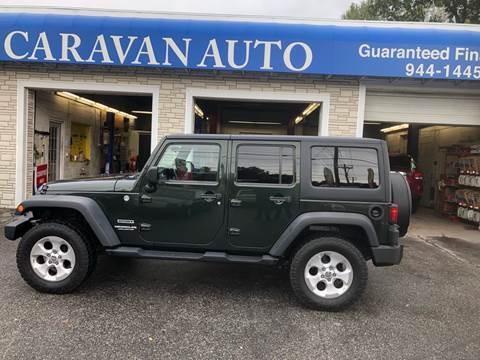 2011 Jeep Wrangler Unlimited for sale at Caravan Auto in Cranston RI