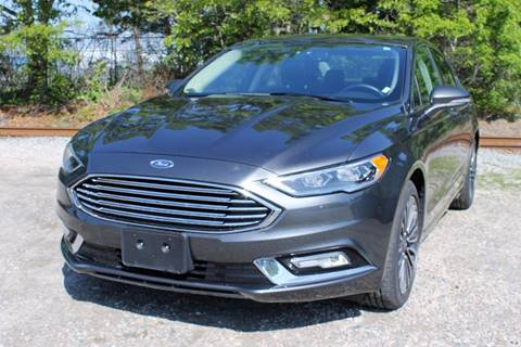 2017 Ford Fusion for sale in Hyannis, MA