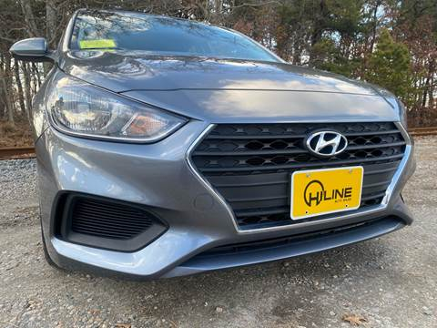 2018 Hyundai Accent SE for sale at HILINE AUTO SALES in Hyannis MA