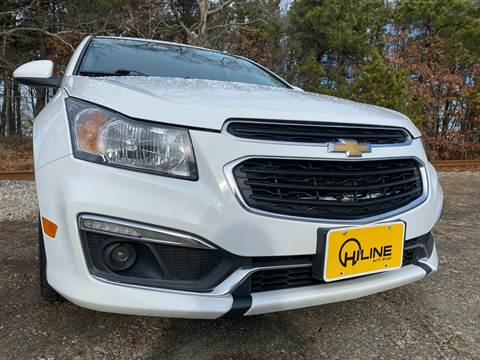 2015 Chevrolet Cruze LTZ Auto for sale at HILINE AUTO SALES in Hyannis MA