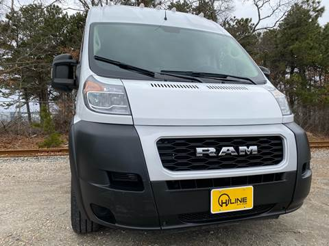 2019 RAM ProMaster Cargo 2500 159 WB for sale at HILINE AUTO SALES in Hyannis MA