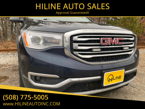 2017 GMC Acadia for sale at HILINE AUTO SALES in Hyannis MA