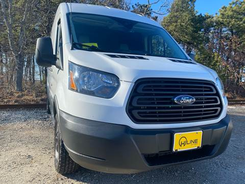 2016 Ford Transit Cargo 350 for sale at HILINE AUTO SALES in Hyannis MA