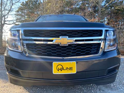 2015 Chevrolet Suburban LT 1500 for sale at HILINE AUTO SALES in Hyannis MA