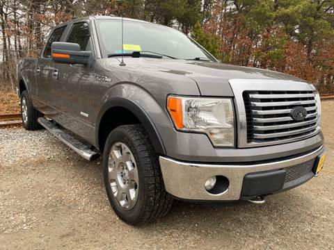 2011 Ford F-150 XLT for sale at HILINE AUTO SALES in Hyannis MA