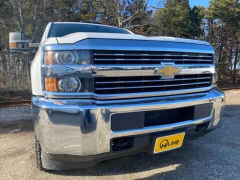 2016 Chevrolet Silverado 2500HD Work Truck for sale at HILINE AUTO SALES in Hyannis MA