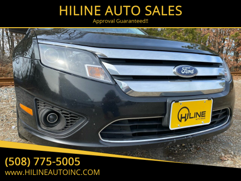 2011 Ford Fusion for sale at HILINE AUTO SALES in Hyannis MA