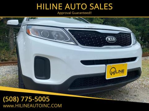 2015 Kia Sorento for sale at HILINE AUTO SALES in Hyannis MA