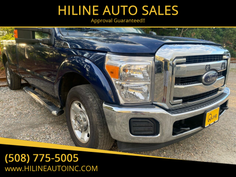 2012 Ford F-250 Super Duty for sale at HILINE AUTO SALES in Hyannis MA