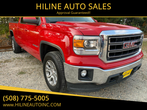 2015 GMC Sierra 1500 for sale at HILINE AUTO SALES in Hyannis MA