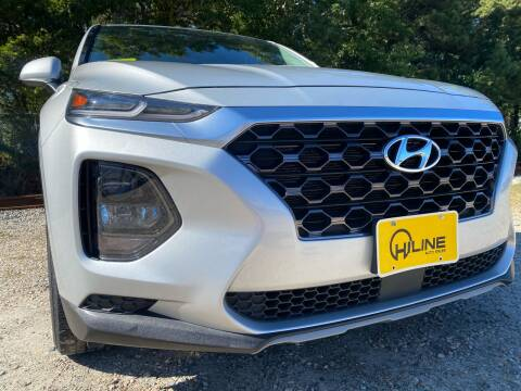 2019 Hyundai Santa Fe for sale at HILINE AUTO SALES in Hyannis MA