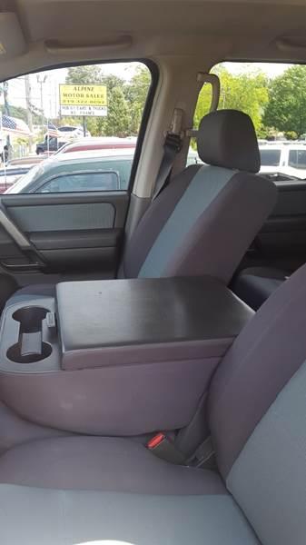 2006 Nissan Titan SE FFV 4dr Crew Cab SB - Schererville IN