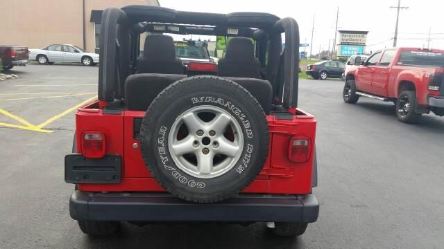 2004 Jeep Wrangler SE 4WD 2dr SUV - Schererville IN