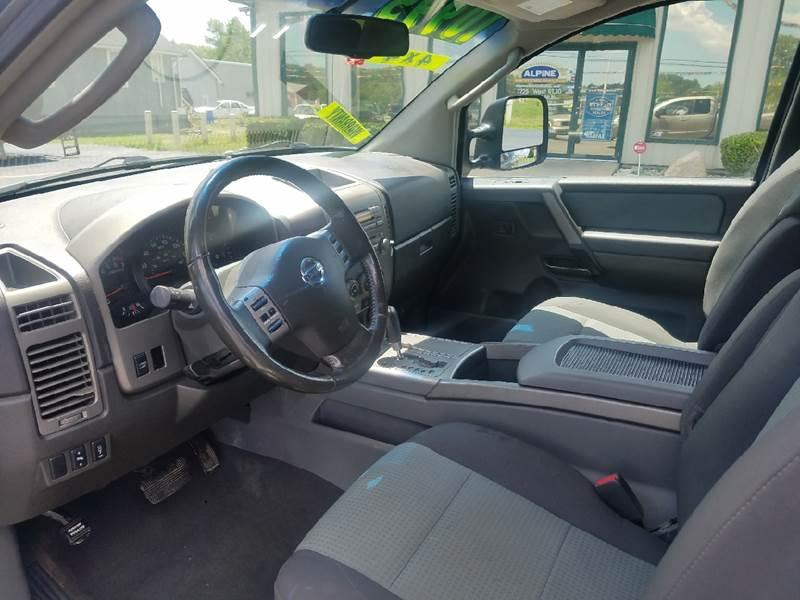 2006 Nissan Titan SE FFV 4dr King Cab 4WD SB - Schererville IN
