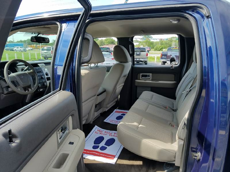 2010 Ford F-150 4x2 XLT 4dr SuperCrew Styleside 6.5 ft. SB - Schererville IN