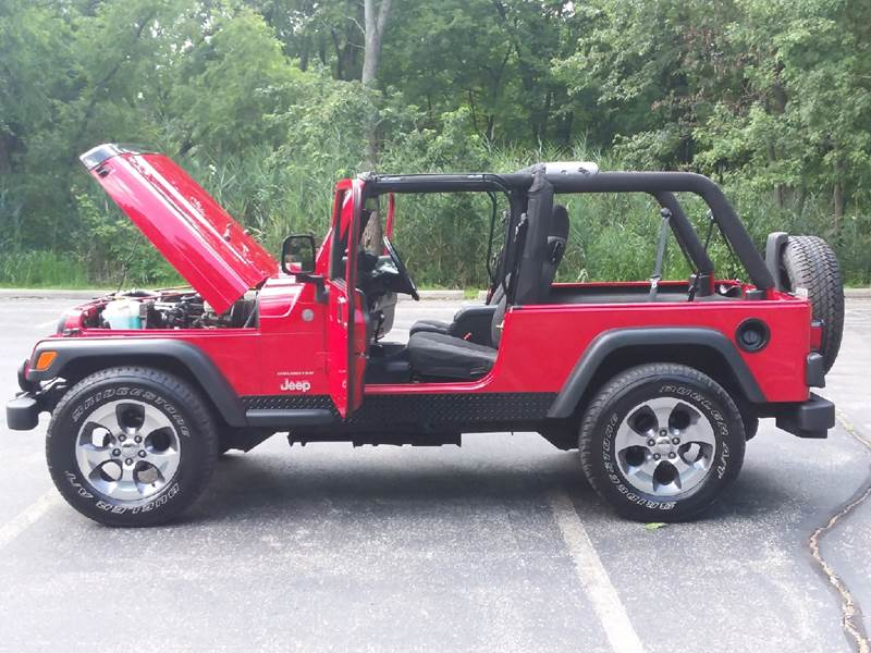2004 Jeep Wrangler Unlimited 4WD 2dr SUV - Schererville IN