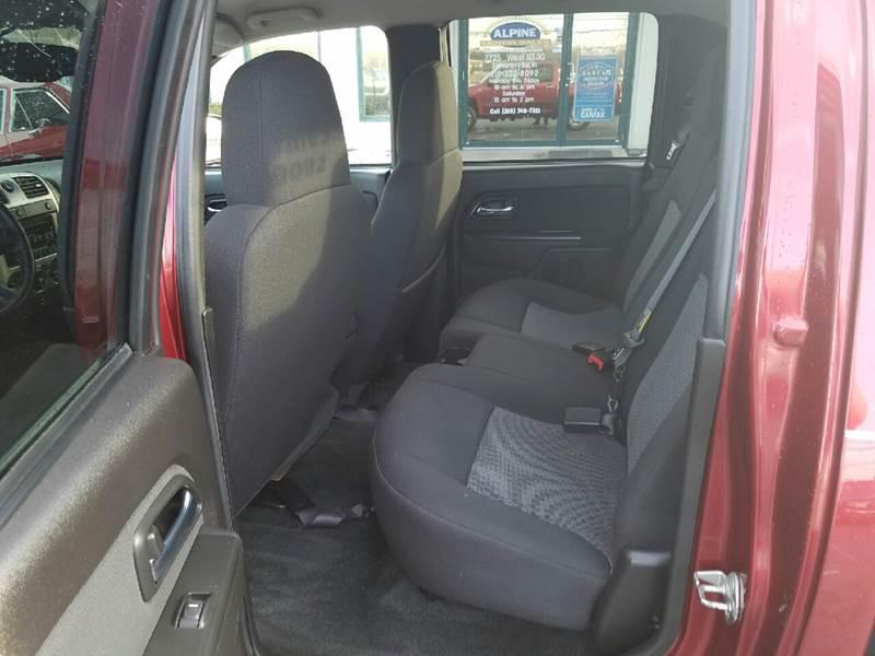2010 Chevrolet Colorado 4x4 LT 4dr Crew Cab w/1LT - Schererville IN