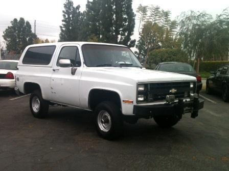 1987 Chevrolet Blazer for sale at Wild Rose Motors Ltd. in Anaheim CA