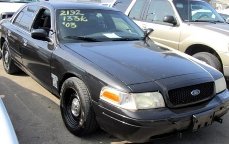 Ford Crown Victoria P Police Interceptor LX In Anaheim CA - 2003 crown victoria