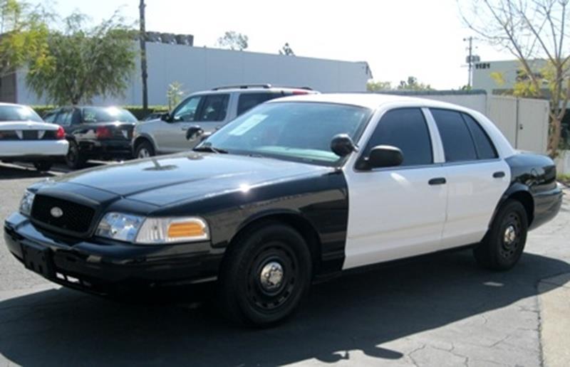 2005 Ford Crown Victoria P71 Police Interceptors In