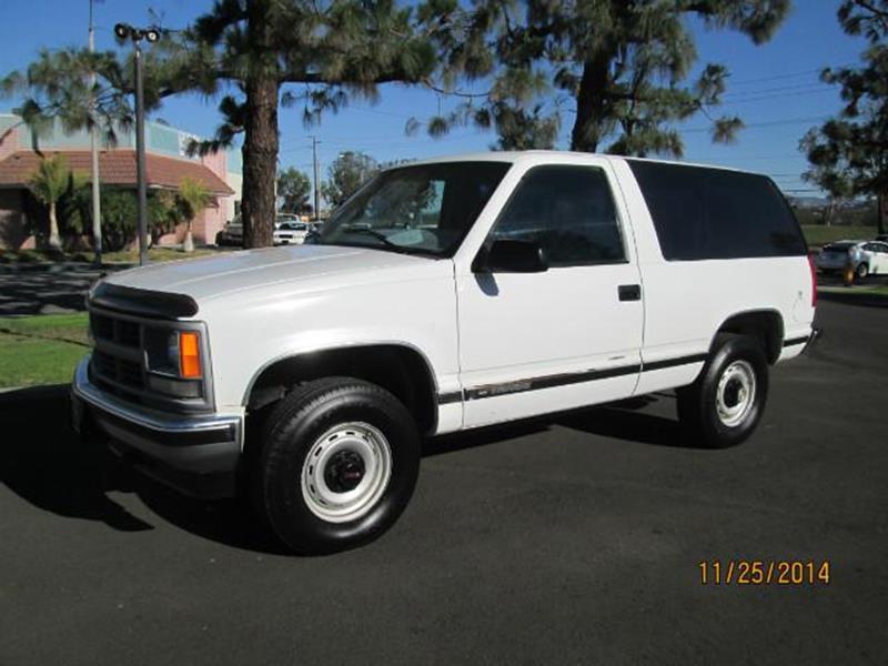 1999 Chevrolet Tahoe Sport Utility 2 Door - Anaheim CA