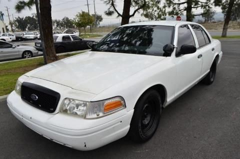1999 Ford Crown Victoria for sale at Wild Rose Motors Ltd. in Anaheim CA