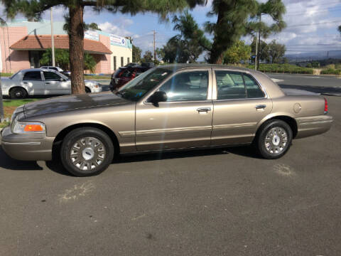 2005 Ford Crown Victoria for sale at Wild Rose Motors Ltd. in Anaheim CA